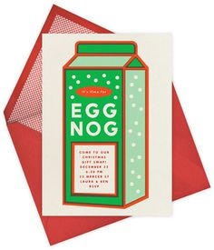 eggnog #illustration #letterpress