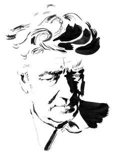 Portraits / Ink   www.elisabethmoch.com