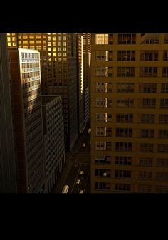 NY06.jpg 651×930 pixels #city #building #sun #vray #rendering #c4d