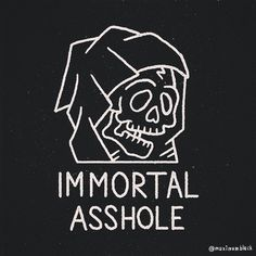 IMMORTAL AHOLE #logo