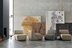 Lagoon Leather Sofa - #sofa, #design, #furniture, #seat,