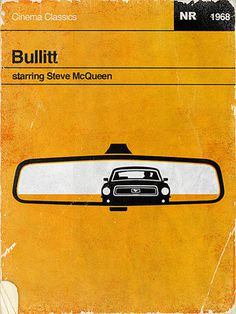 Bullitt #bullitt #yellow #design #graphic #mustang