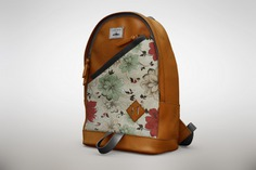 Floral bagpack mock up Free Psd. See more inspiration related to Mockup, Floral, Template, Web, Website, Bag, Mock up, Templates, Website template, Mockups, Up, Handbag, Web template, Realistic, Real, Web templates, Mock ups, Mock and Ups on Freepik.