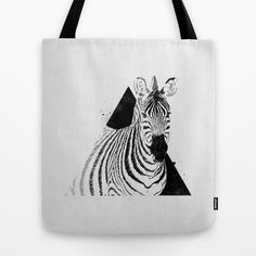 Followers (5) #tote #koning #bolsa #ilustrao #illustration #zebra #fashion #bag