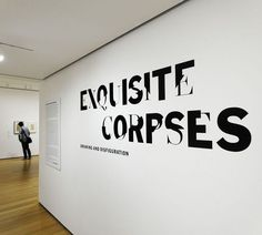 Exquisite Corpses The Department of Advertising and Graphic Design, MOMA #exquisite #design #graphic #advertising #corpses #moma #department