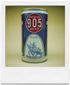 All sizes | Premium 905 Beer | Flickr - Photo Sharing! #packaging #can #vintage