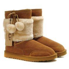 Ugg Women Classic Short Fur 5899 Chestnut