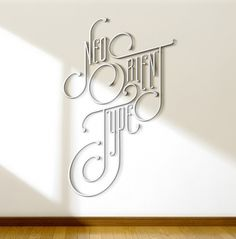 Neo Orient Type on Typography Served #typography