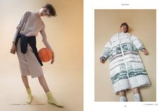 Smile Like You Mean It| FRISCHE No.4 Photographer: Marili Andre Model: Elisabeth Bauer #fashion #photography #basketball