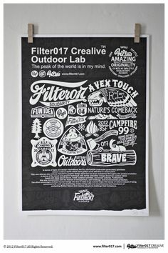 Screen Printing Poster by Filter017 #design #graphic #poster #typography