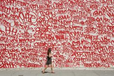 http://blog.iamalwayshungry.com/ #graffiti #type #mural