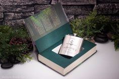 Polyjuice flask with Harry Potter and The Half Prince- Hollow Book Safe