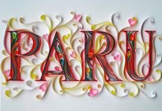 Miscellaneous on the Behance Network #craft #typography