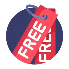 See more icon inspiration related to free, price, commerce and shopping, label, marketing, commerce, tag and signs on Flaticon.