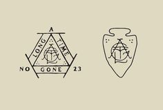 L A N D #seal #logo #identity