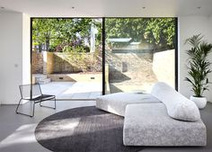 Small and Modestly Looking Brick House - living room, interior design, decor, #livingroom