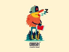 001_lumberjack_code501 #design #character #illustrations #lumberjack