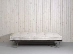 Atoll Daybed by Atoll Form  SoFiliumm #wood #white #steel #sofa