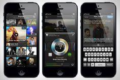 brandnew Twitter #Music app