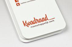Kwadraad_identity03 #script #identity #typography