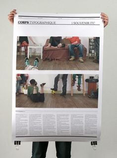 CORPS TYPOGRAPHIQUE : benoitlemoine #grid #print #newspaper