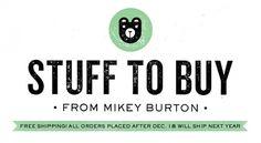 Mikey Burton — Home #mikey #store #logo #bear #burton