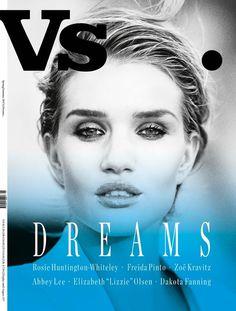 Vs. magazine taps | Rosie Huntington - Whiteley by Guy Aroch