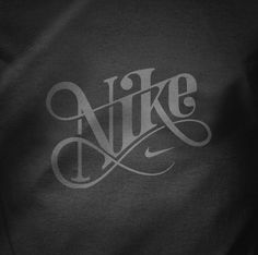 "Nike Jekselâ""¢ The Portfolio of Mats Ottdal #nike #script #typography"