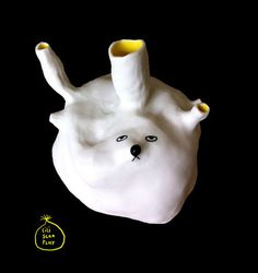 Adorable ceramic works from Lili Scratchy #ceramics #lili #scratchy
