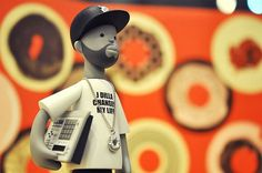 J Dilla Toy by Phil Young Song » Design You Trust – Design Blog and Community #j dilla #toy #donuts #detroit #dilla