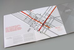 #map #brochure #streets