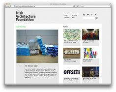 Architecture Foundation | Aad #studioaad #website #architecture #foundation #irish