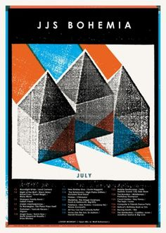 Posters : YOUNG MONSTER #gig #poster #screen #print #design
