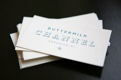 Buttermilk Channel: idsgn (a design blog) #stationary #business #card #retro #typography