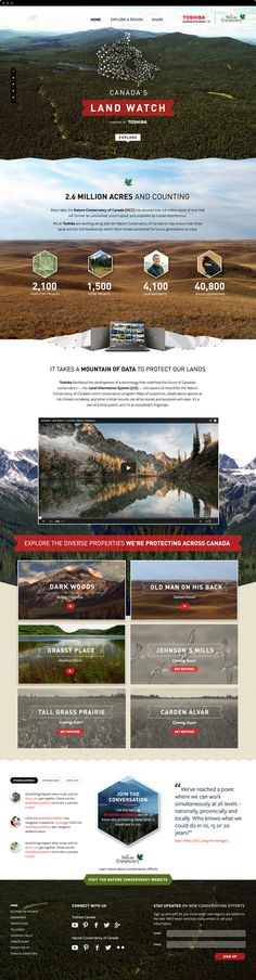 LandWatch.Index.jpg #website #layout