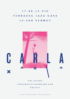 CARLA   Posters by Ingrid Picanyol