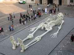 The Giant Traveling Skeleton - My Modern Metropolis #skeleton