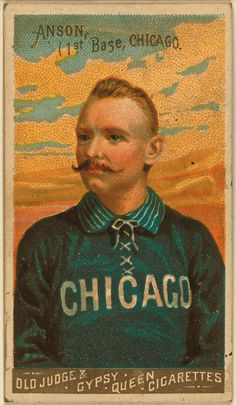 Vintage Sport Mo #illustration #vintage #chicago #moustache