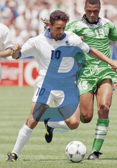 Typography & Fútbol #B // Baggio on Behance
