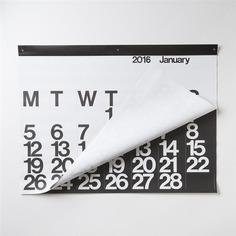 Massimo Vignelli: Stendig Calendar | Sgustok Design