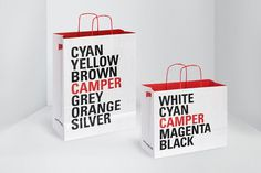 Graphic design inspiration #packaging #bags