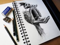 Amazing drawings by PEZ #illustration #ducks #awesome