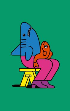 Edward Carvalho Monaghan | PICDIT #design #color #illustration #art #children