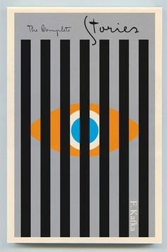 Creative Review - Covering Kafka with colour #graphic design #book cover #kafka