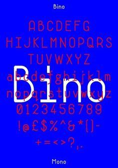 Neal Fletcher — Portfolio #specimen #design #bino #poster #type #typography