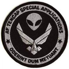 USAF TENCAP SPECIAL APPLICATIONS SPACE PROGRAM PATCH