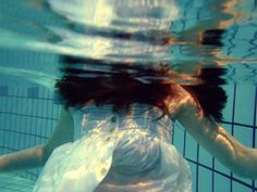 Ophelia #woman #wet #underwater #ophelia #photography #dreamy #dress #raven