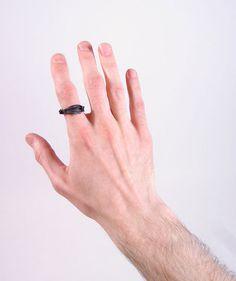 driftwoodskull x Robert Geller feather ring #silver #ring #jewelry #feather ring #geller #driftwoodskull
