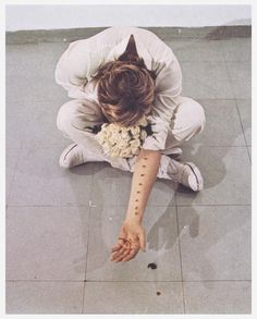"""Sentimental Action"", 1973, performance by Gina Pane #art #performance"