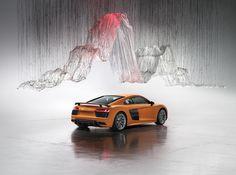 Art by Yasuaki Onishi Art directed by Vinny Olimpio Photo by Benedict Redgrove  #art #automotive #audi #r8 #audir8 #artdirection